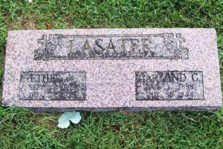AGIN LASATER, ETHEL - Benton County, Arkansas | ETHEL AGIN LASATER - Arkansas Gravestone Photos