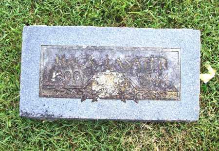 LASATER, MACK - Benton County, Arkansas | MACK LASATER - Arkansas Gravestone Photos