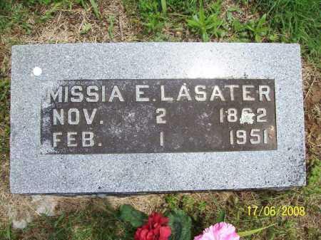 LASATER, MISSIA E. - Benton County, Arkansas | MISSIA E. LASATER - Arkansas Gravestone Photos