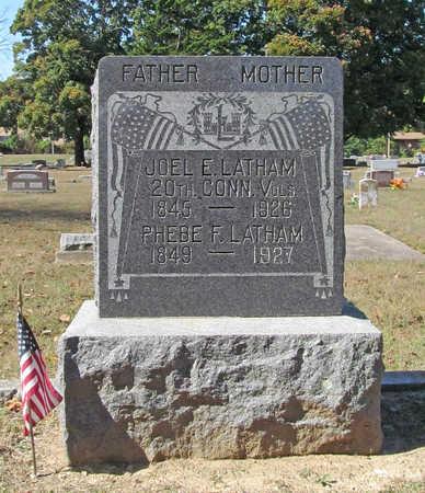LATHAM (VETERAN UNION), JOEL E - Benton County, Arkansas   JOEL E LATHAM (VETERAN UNION) - Arkansas Gravestone Photos