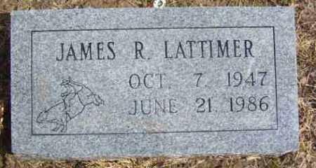 LATTIMER, JAMES RICHARD - Benton County, Arkansas | JAMES RICHARD LATTIMER - Arkansas Gravestone Photos