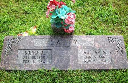 LATTY, WILLIAM M. - Benton County, Arkansas | WILLIAM M. LATTY - Arkansas Gravestone Photos