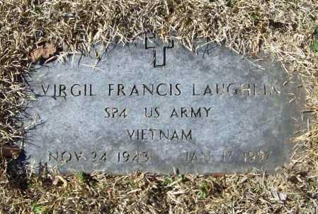 LAUGHLIN (VETERAN VIET), VIRGIL FRANCIS - Benton County, Arkansas | VIRGIL FRANCIS LAUGHLIN (VETERAN VIET) - Arkansas Gravestone Photos