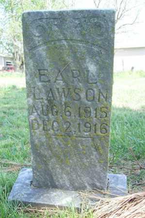 LAWSON, EARL - Benton County, Arkansas   EARL LAWSON - Arkansas Gravestone Photos