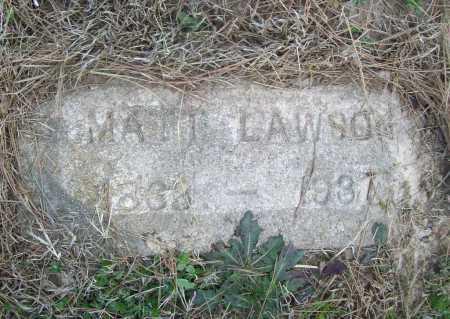 LAWSON, MATT - Benton County, Arkansas   MATT LAWSON - Arkansas Gravestone Photos