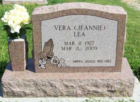 "BURKS LEA, VERA IMOGENE ""JEANNIE"" - Benton County, Arkansas | VERA IMOGENE ""JEANNIE"" BURKS LEA - Arkansas Gravestone Photos"