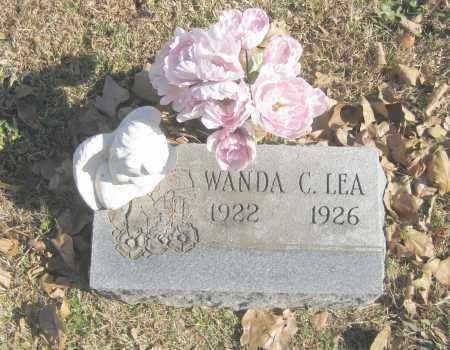 LEA, WANDA C. - Benton County, Arkansas   WANDA C. LEA - Arkansas Gravestone Photos