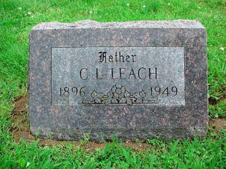 LEACH, C. L. - Benton County, Arkansas | C. L. LEACH - Arkansas Gravestone Photos