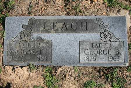 LEACH, MARGARET L. - Benton County, Arkansas | MARGARET L. LEACH - Arkansas Gravestone Photos