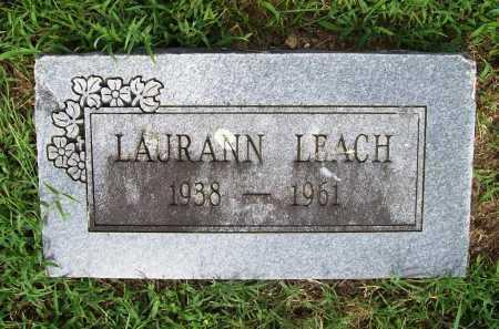 LEACH, LAURANN - Benton County, Arkansas   LAURANN LEACH - Arkansas Gravestone Photos