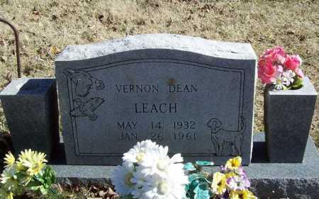 LEACH, VERNON DEAN - Benton County, Arkansas | VERNON DEAN LEACH - Arkansas Gravestone Photos