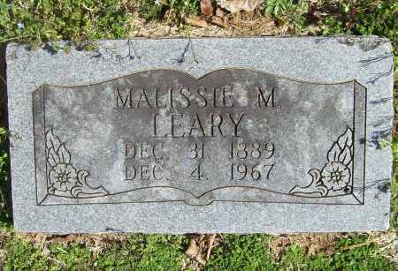 LEARY, MALISSIE - Benton County, Arkansas | MALISSIE LEARY - Arkansas Gravestone Photos