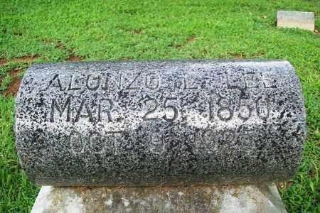 LEE, ALONZO E. - Benton County, Arkansas | ALONZO E. LEE - Arkansas Gravestone Photos
