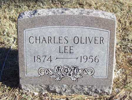 LEE, CHARLES OLIVER - Benton County, Arkansas | CHARLES OLIVER LEE - Arkansas Gravestone Photos