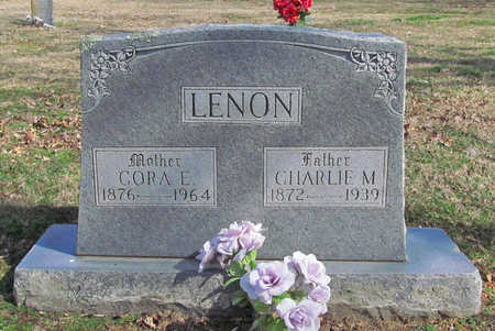 ADAMS LENON, CORA E - Benton County, Arkansas | CORA E ADAMS LENON - Arkansas Gravestone Photos