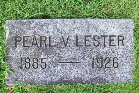 LESTER, PEARL V. - Benton County, Arkansas   PEARL V. LESTER - Arkansas Gravestone Photos