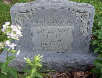 LETTS, ETHEL MAY - Benton County, Arkansas   ETHEL MAY LETTS - Arkansas Gravestone Photos