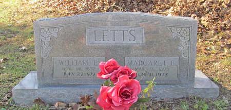 LETTS, WILLIAM E - Benton County, Arkansas | WILLIAM E LETTS - Arkansas Gravestone Photos