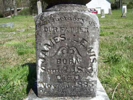 LEWIS, JAMES (CLOSEUP) - Benton County, Arkansas | JAMES (CLOSEUP) LEWIS - Arkansas Gravestone Photos