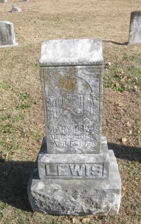LEWIS, MARY - Benton County, Arkansas | MARY LEWIS - Arkansas Gravestone Photos