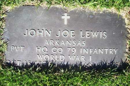 LEWIS (VETERAN WWI), JOHN JOE - Benton County, Arkansas   JOHN JOE LEWIS (VETERAN WWI) - Arkansas Gravestone Photos