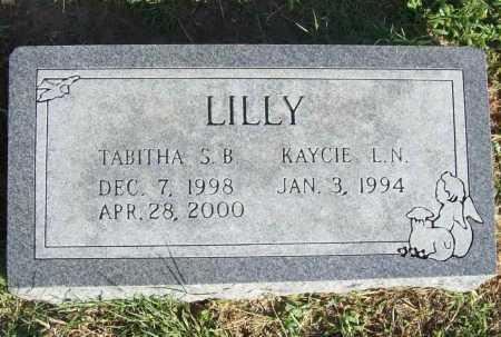 LILLY, KAYCIE L. N. - Benton County, Arkansas | KAYCIE L. N. LILLY - Arkansas Gravestone Photos