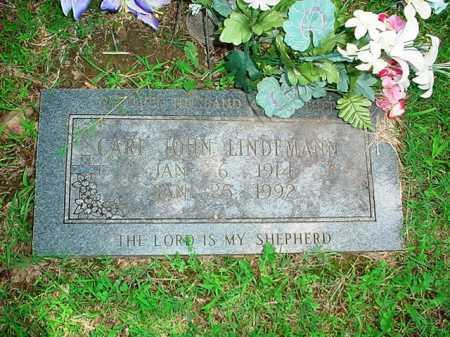 LINDEMANN, CARL JOHN - Benton County, Arkansas | CARL JOHN LINDEMANN - Arkansas Gravestone Photos