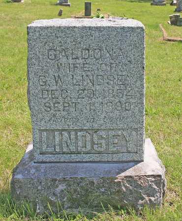 LINDSEY, CALDONA  M - Benton County, Arkansas | CALDONA  M LINDSEY - Arkansas Gravestone Photos