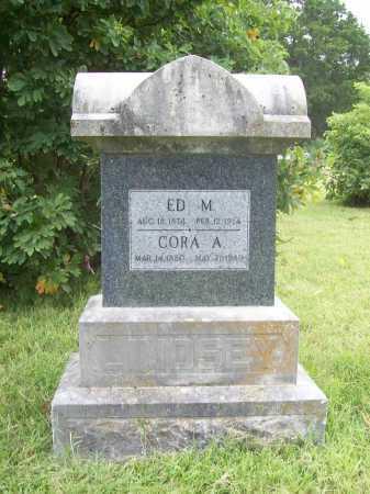 LINDSEY, ED M. - Benton County, Arkansas | ED M. LINDSEY - Arkansas Gravestone Photos