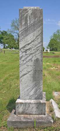 LINDSEY, F G SR - Benton County, Arkansas | F G SR LINDSEY - Arkansas Gravestone Photos