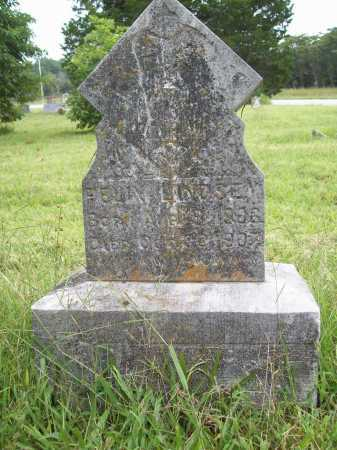 LINDSEY, FELIX - Benton County, Arkansas | FELIX LINDSEY - Arkansas Gravestone Photos