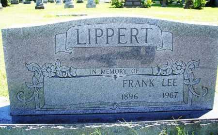LIPPERT, FRANK LEE - Benton County, Arkansas | FRANK LEE LIPPERT - Arkansas Gravestone Photos