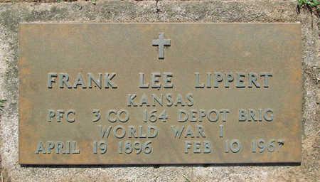LIPPERT (VETERAN WWI), FRANK LEE - Benton County, Arkansas | FRANK LEE LIPPERT (VETERAN WWI) - Arkansas Gravestone Photos