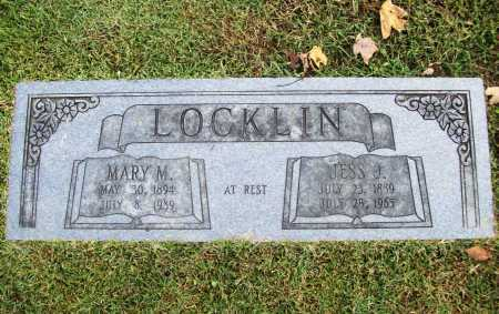 "LOCKLIN, JESS J. ""JEFF"" - Benton County, Arkansas 