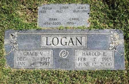 LOGAN, HAROLD E. - Benton County, Arkansas | HAROLD E. LOGAN - Arkansas Gravestone Photos