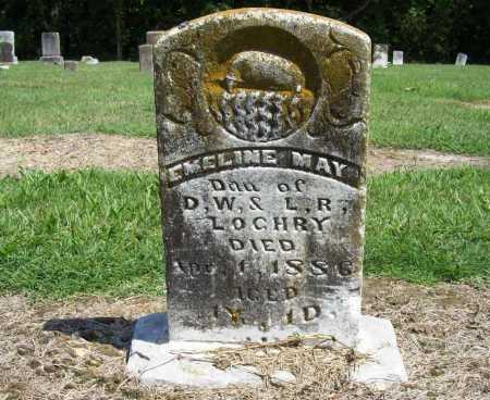LOGHRY, EMELINE MAY - Benton County, Arkansas | EMELINE MAY LOGHRY - Arkansas Gravestone Photos