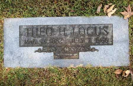 LOGUS, THEO H. - Benton County, Arkansas | THEO H. LOGUS - Arkansas Gravestone Photos