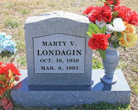 LONDAGIN, MARTY V - Benton County, Arkansas   MARTY V LONDAGIN - Arkansas Gravestone Photos