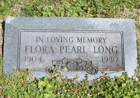 LONG, FLORA PEARL - Benton County, Arkansas | FLORA PEARL LONG - Arkansas Gravestone Photos