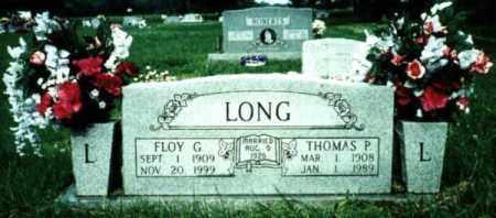 LONG, FLOY GERTRUDE - Benton County, Arkansas | FLOY GERTRUDE LONG - Arkansas Gravestone Photos