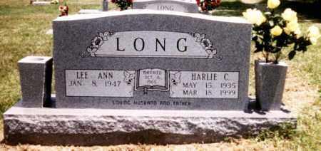 LONG, HARLIE COOK - Benton County, Arkansas | HARLIE COOK LONG - Arkansas Gravestone Photos