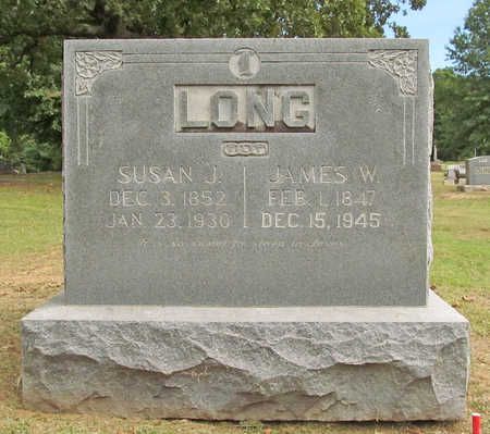LONG, SUSAN JANE IVY - Benton County, Arkansas | SUSAN JANE IVY LONG - Arkansas Gravestone Photos