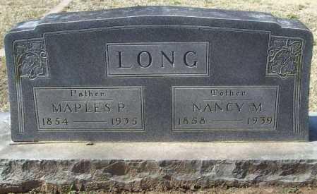 LONG, NANCY M. - Benton County, Arkansas | NANCY M. LONG - Arkansas Gravestone Photos