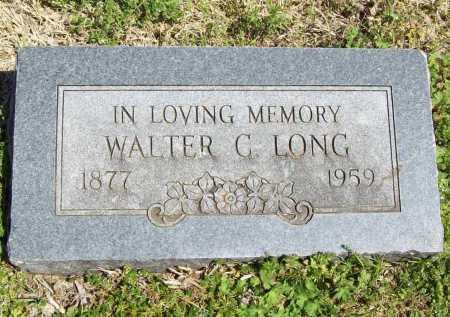 LONG, WALTER C. - Benton County, Arkansas | WALTER C. LONG - Arkansas Gravestone Photos