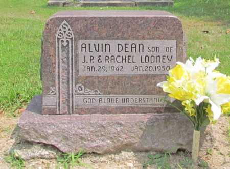 LOONEY, ALVIN DEAN - Benton County, Arkansas | ALVIN DEAN LOONEY - Arkansas Gravestone Photos