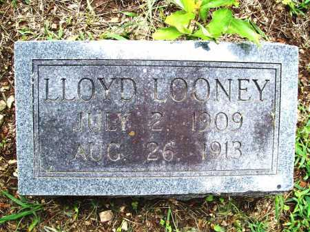 LOONEY, LLOYD - Benton County, Arkansas   LLOYD LOONEY - Arkansas Gravestone Photos
