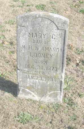 LOONEY, MARY C. - Benton County, Arkansas | MARY C. LOONEY - Arkansas Gravestone Photos