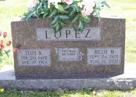 LOPEZ, ELLIS K. - Benton County, Arkansas | ELLIS K. LOPEZ - Arkansas Gravestone Photos