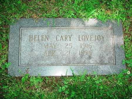 LOVEJOY, HELEN CARY - Benton County, Arkansas | HELEN CARY LOVEJOY - Arkansas Gravestone Photos