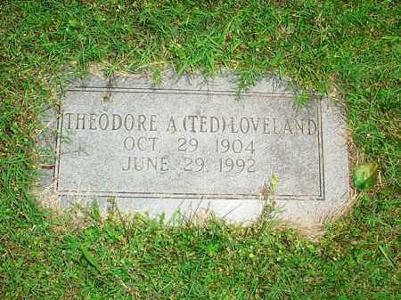 LOVELAND, THEODORE A. (TED) - Benton County, Arkansas   THEODORE A. (TED) LOVELAND - Arkansas Gravestone Photos